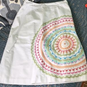 Immaculate cotton skirt